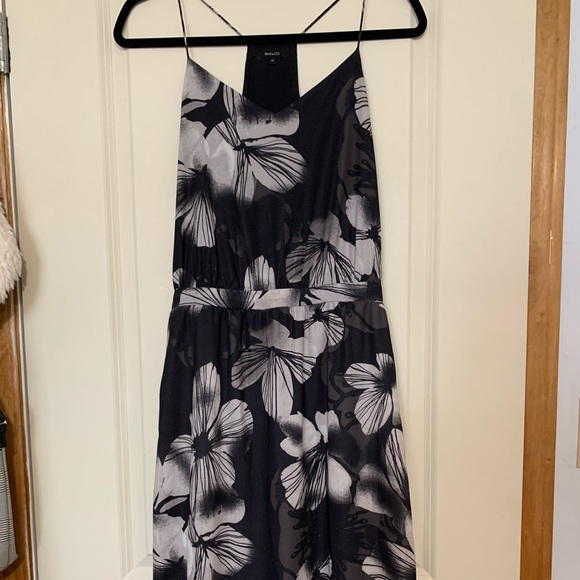 Silky Maxi Dress with Floral Pattern from RW&CO